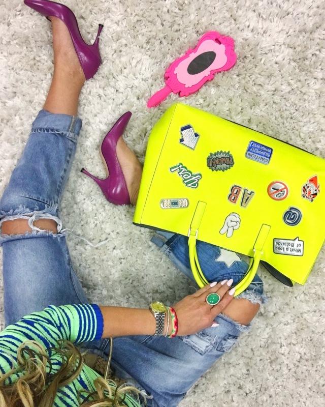 yellow anya